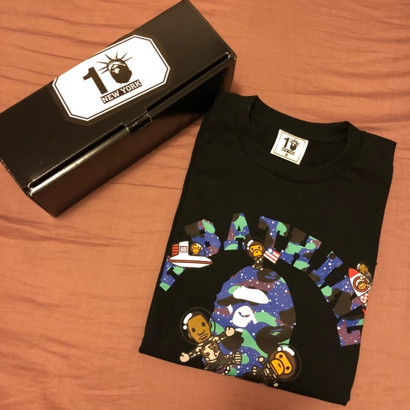 53b1c5484 Bape Shirts | A Bathing Ape 10th Anniversary Kid Cudi Shirt | Poshmark